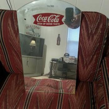 50's Coke mirror help