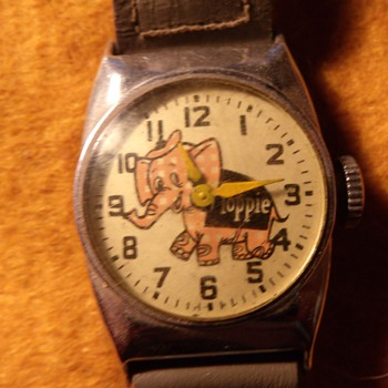 1958 Toppie the Elephant Wrist Watch  - Wristwatches