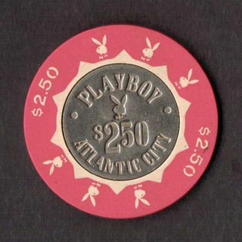 Playboy Casino $2.50 Gaming Chip