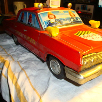 Anyone know anything about this Fire Chief car??????
