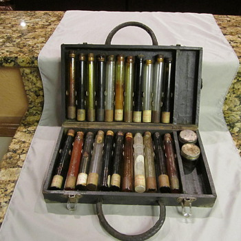 Lincoln Oil Co. Salesman Sample Case