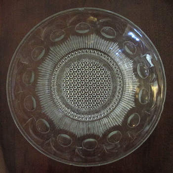 U.S. Glass #15078 Manhattan Bowl c1902