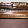 Vintage Reading Railway System Note Pad/Calender Holder
