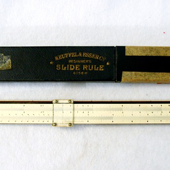 K &amp; E Slide Rule - Office