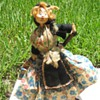 European 'character' dolls: gypsy, matador, flamingo dancer, bagpipe player