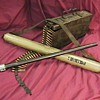 WW II German MG-34 Spare Barrel &amp; Carrier with Ammo Can