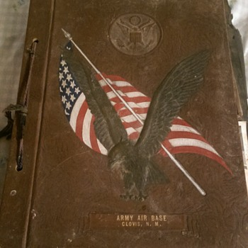 Army Air Base Clovis N.M. Scrap Book - Photographs