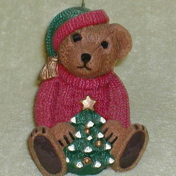 Christmas Bear Candle - Christmas