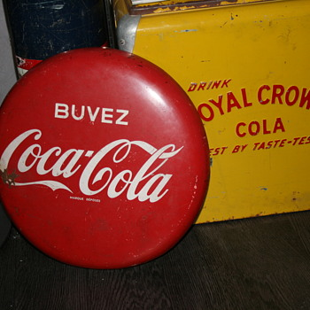 coke button - Signs