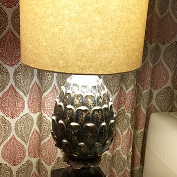 Mid-Century Pineapple Lamp