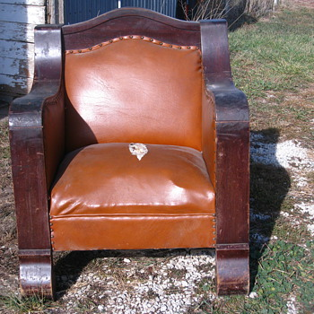 Antique Empire Chair - Furniture