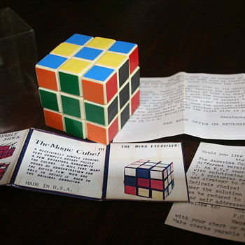 magic cube 1980 - pre rubiks name - Games