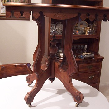 Family end table that supposedly has been around for 150 years