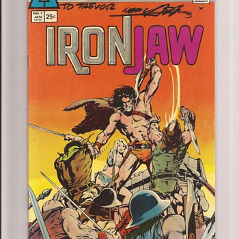 Atlas comics Ironjaw