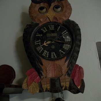 The old owl clock - Clocks