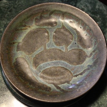 Beautiful Studio Pottery Bowl - signed, but by whom?! - Art Pottery