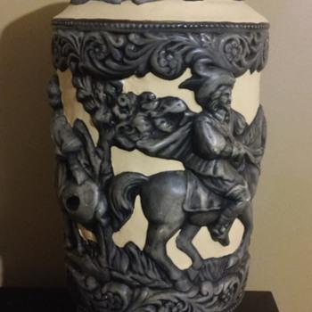 New Treasure George Roby Vase?? - Art Pottery