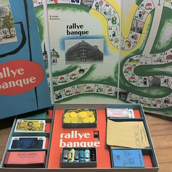 """rallye banque"" board game from Societe Generale"