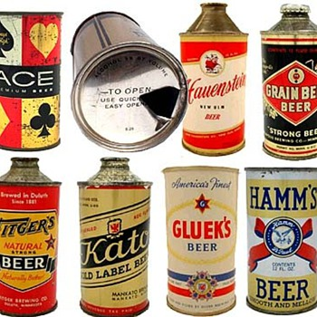 Minnesota beer cans