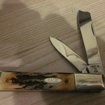 Case XX STAG one arm Razor Knife