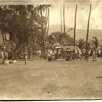 Hawaii 1920s or 30s - Military and Wartime