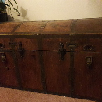 Large mystery trunk