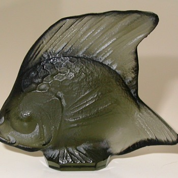 Glass art from René Lalique  (figurine)