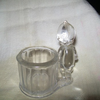 Old glass candy cup - Glassware