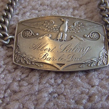 WW1 soldiers identification bracelet c. 1918 - Military and Wartime