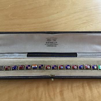 Patriotic enamelled bracelet  - Fine Jewelry