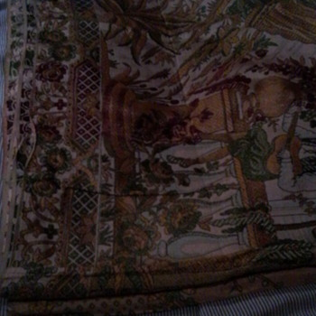 One of my mothers vintage materials - Rugs and Textiles