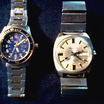"""Swiss Army"" & ""Helbrose"" Watches / Circa 20th Century - Wristwatches"