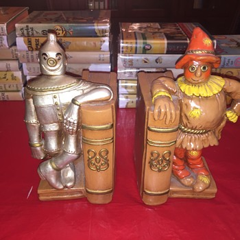 Wizard of Oz bookends from 1970s