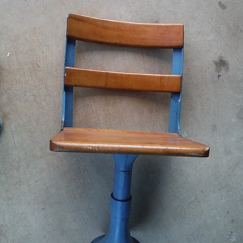 "My Very Unusual ""School Chair"" ?"