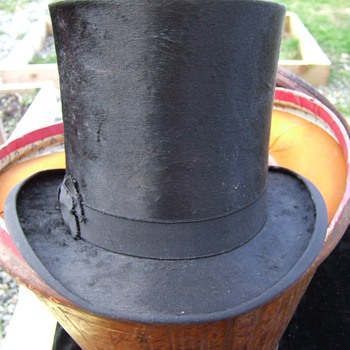 Top Hats in 1867 From Great Grandpa's trunk, Powder river Wyoming