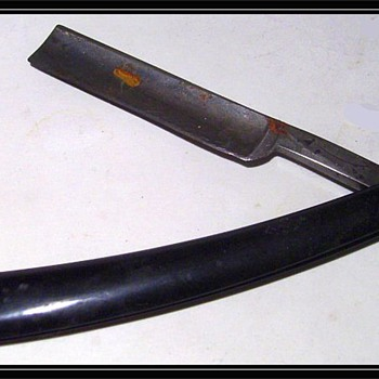 (BARBER) - WOSTENHOLM STRAIGHT  RAZOR - Accessories