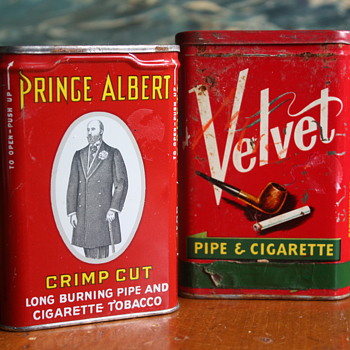 Two Tobacco Tins