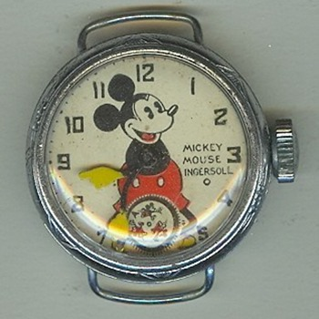1934 Sears Catalog Ingersoll Mickey - Wristwatches