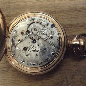 Hamilton railroad pocket watch