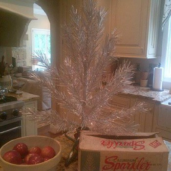 Aluminum Christmas tree - Christmas