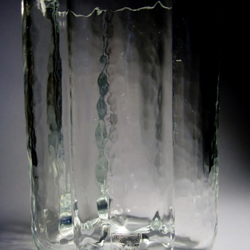 RUNE STRAND FOR SEA OF SWEDEN - Art Glass