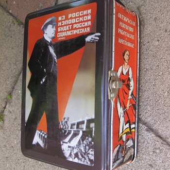 Vladimir Lenin points the way to a great lunchbox, but a Russian immigrant is offended.