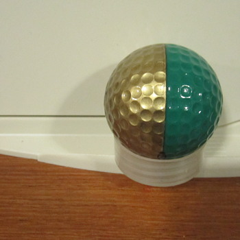 RARE-1987-2-PING-EYE-KARSTEN-SIGNATURE-GOLD-METALLIC-GREEN-GOLF-BALL  RARE-1987-2-PING-EYE-KARSTEN-SI