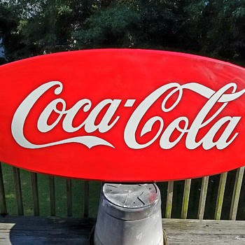Large 1960's Coca-Cola Sign(s) - Coca-Cola