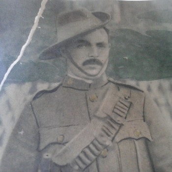 Great Grandfathers Boer War Photo
