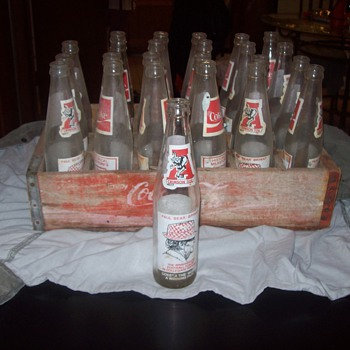 University  of Alabama Coca Cola Bottles/Case