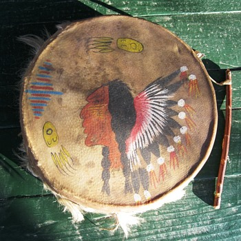 Hand Painted Drum - Musical Instruments