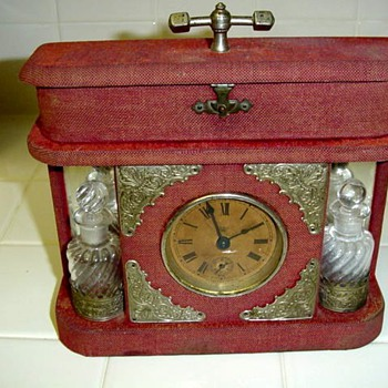 Antique Waterbury Boudior Mantel Clock-Circa 1900 - Clocks
