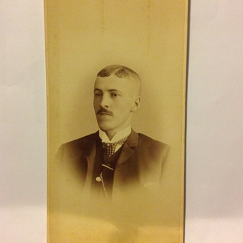 Odd Shaped Cabinet Card