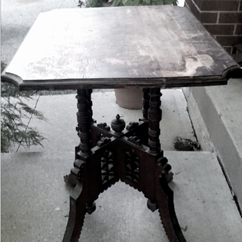 Old Table found in Garage - Furniture